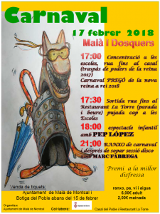 Cartell carnaval 2018